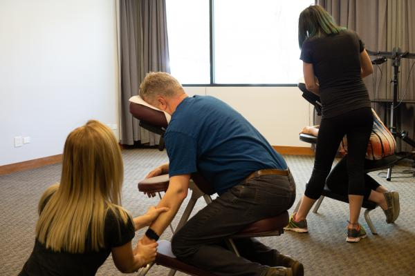 Why Chair Massage is Right for Your Company