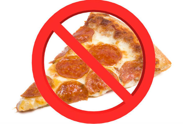 Say No to Pizza and Yes to Chair Massage!