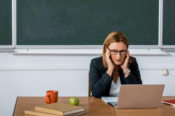 Teaching is a High Stress Job for Many