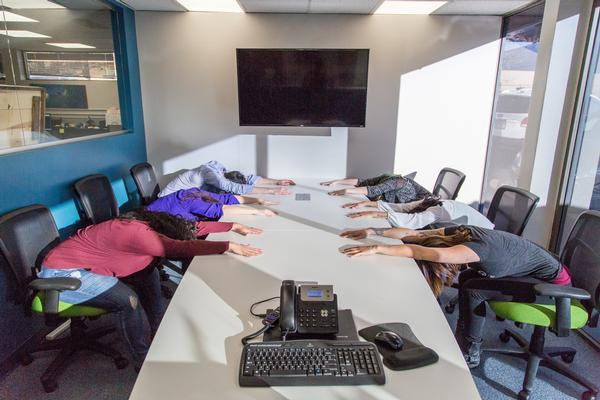Want Happier, Healthier, More Engaged Employees? Add Chair Yoga to Your Benefits Package.